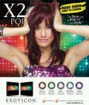 X2 pop Rp 65rb/pasang